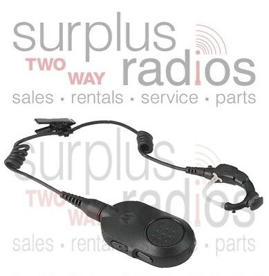 New Motorola Oem Nntn8125c Bluetooth Headset With Ptt Xpr5550 Mobile Base Radio 748091001147 Ebay