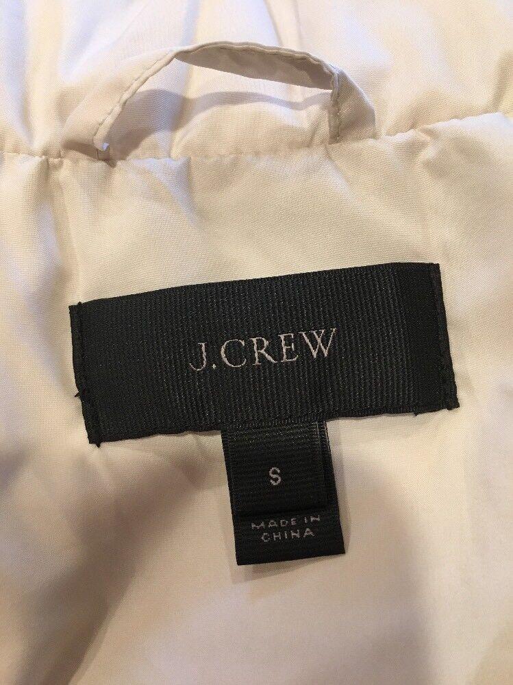 J J J Crew Women's Down Puffer Vest Small 64c75c