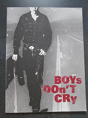 Vereinigt Boys Don't Cry Presseheft Peter Sarsgaard Hilary Swank