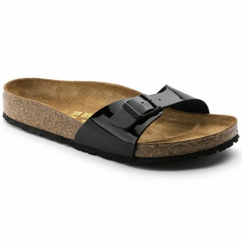 Brikenstock Madrid Ladies Black Sandals 40