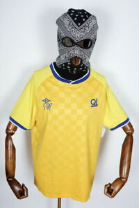 The Quiet Life T-Shirt Tee Shirt Rival Soccer Jersey Yellow in S