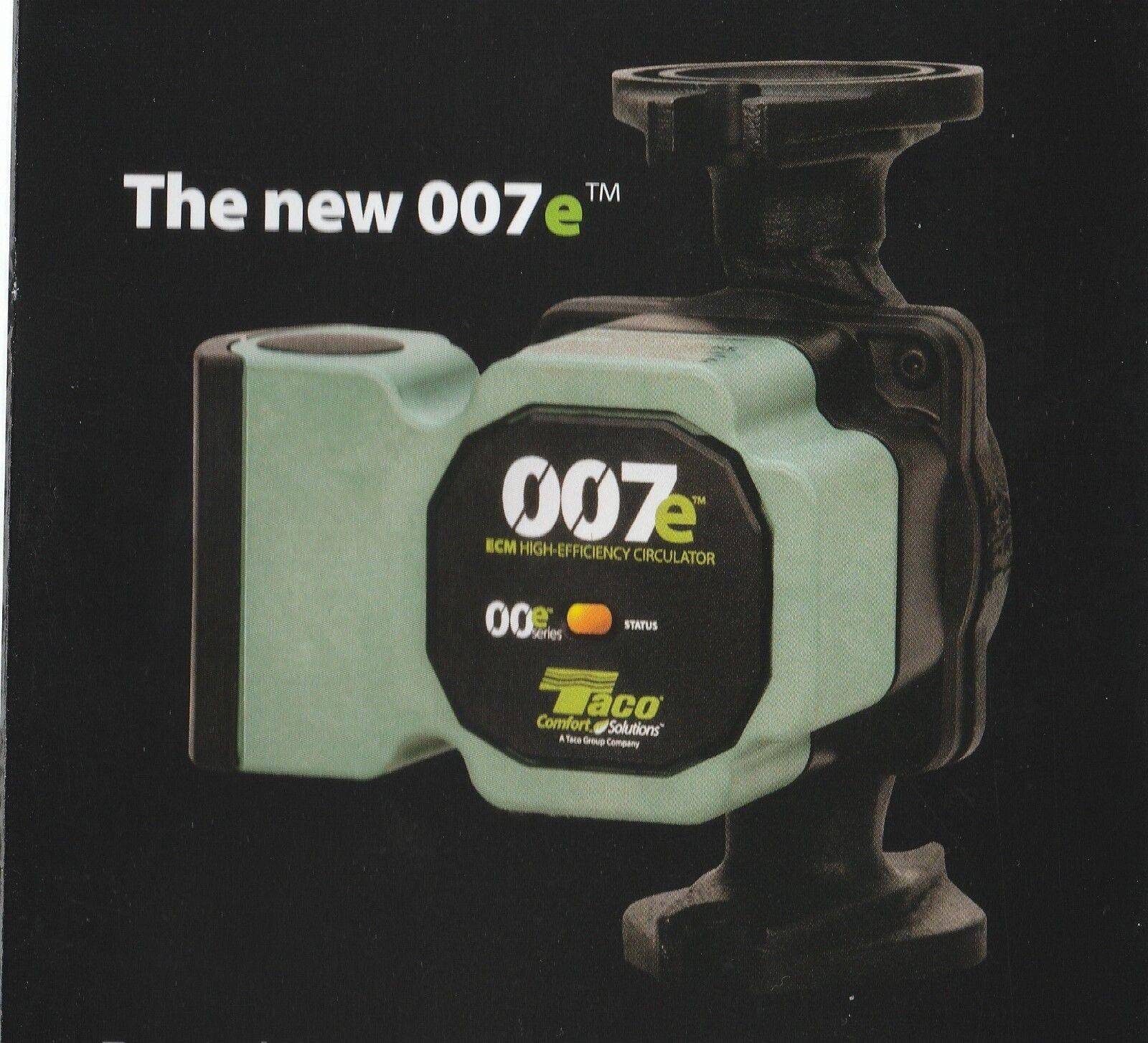 Taco Evolve 007e Ecm High Efficiency Circulator Pump Ebay Wiring 007 F4 Norton Secured Powered By Verisign
