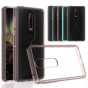 For-Nokia-6-2018-7-Plus-Bumper-Case-Hybrid-Clear-Shockproof-Tpu-Gel-Phone-Cover