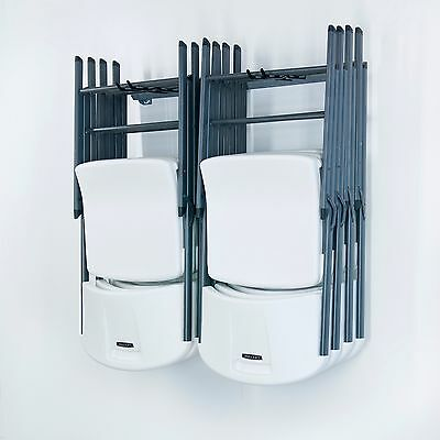 Monkey Bar Storage (small) Folding Chair Storage Wall-Rack Garage Organizer