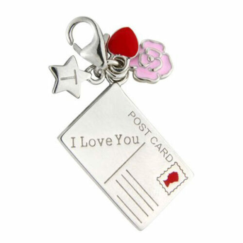 argento sterling You su con Tingle Charm I in Sch222 regalo scatola Clip Love 0wEZ18q