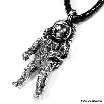 UK Handmade Space Shuttle Pewter Charm Pendant Necklace Astronomy