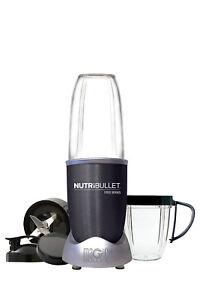 Nutribullet 1000 watt 9 piece Nutrient Exractor: Dark Grey: N10-0907DG