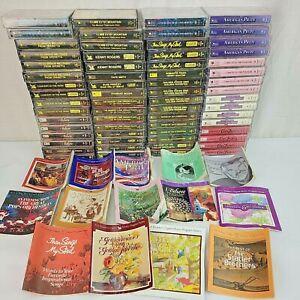 Readers Digest Cassette Tapes Lot 64 Mixed Choral Favorites Elvis Mood Music