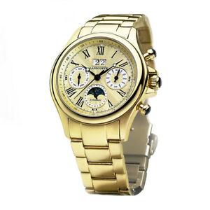Caja Original1 Año De Oroen Detalles Reloj Garantia Astronomy Automatico Lanscotte bgyv6f7Y