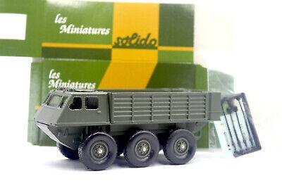 boîte Berliet Alvis 6x6 armée française truck + décalc Solido: camion