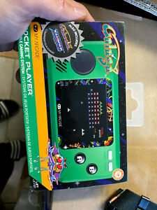 My Arcade Official Galaga Pocket Player Handheld Retro Video Game 3 Titles 12b 845620032440 Ebay