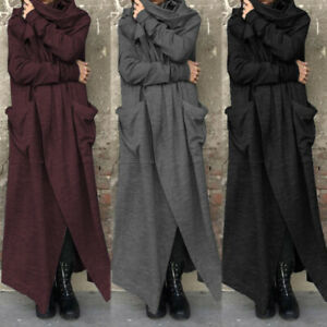 UK-Womens-Long-Sleeve-Cardigan-Trench-Ladies-Long-Coats-Jackets-Outwear-Duster