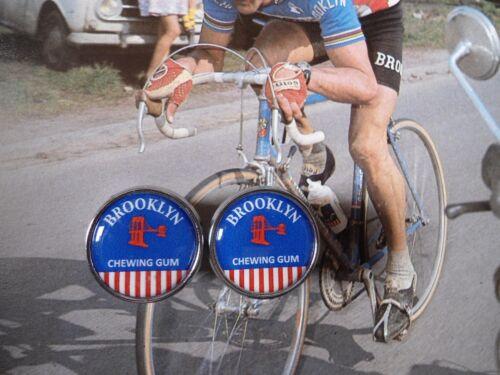 Vintage style Brooklyn Team Handlebar End Plugs