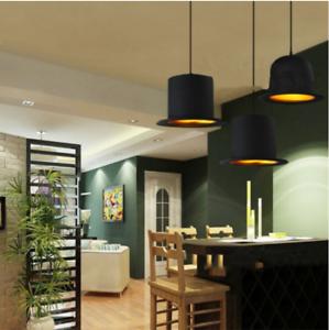 Aluminium-Bowler-Hat-Pendant-Light-Home-Decoration