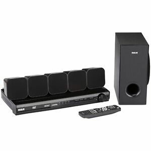 Home-Theater-System-RCA-DVD-with-HDMI-1080p-Output-8-pc-Box-TV-Surround-Sound