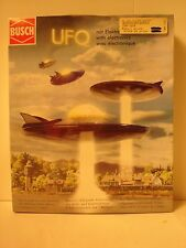 2000 Sealed Busch UFO Space Craft Kit with Flashing and Blinking Light Effects.