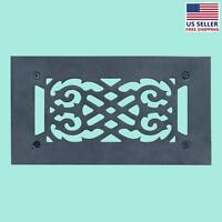 Heat Air Grille Cast Victorian 5.5 X 10 Overall | Renovator's Supply on sale