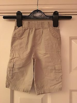 Dashing Next Newborn Beige Trousers Size 3-6 Months Baby & Toddler Clothing