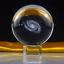 Galaxy-Crystal-Ball-Glass-Clear-3D-Laser-Engraved-Miniatures-Globe-Sphere-Decor thumbnail 1