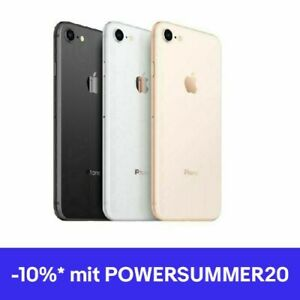 Apple iPhone 8 - 64GB - Spacegrau - Silber - Rot - Gold - WOW! soweit vorrätig