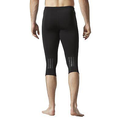 adidas Response 34 Tight Herren Laufhose Runningcapri Jogging Sporthose | eBay