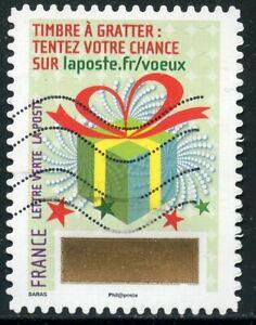France Autoadhesif Oblitere N° 1337 // Timbre De Voeux