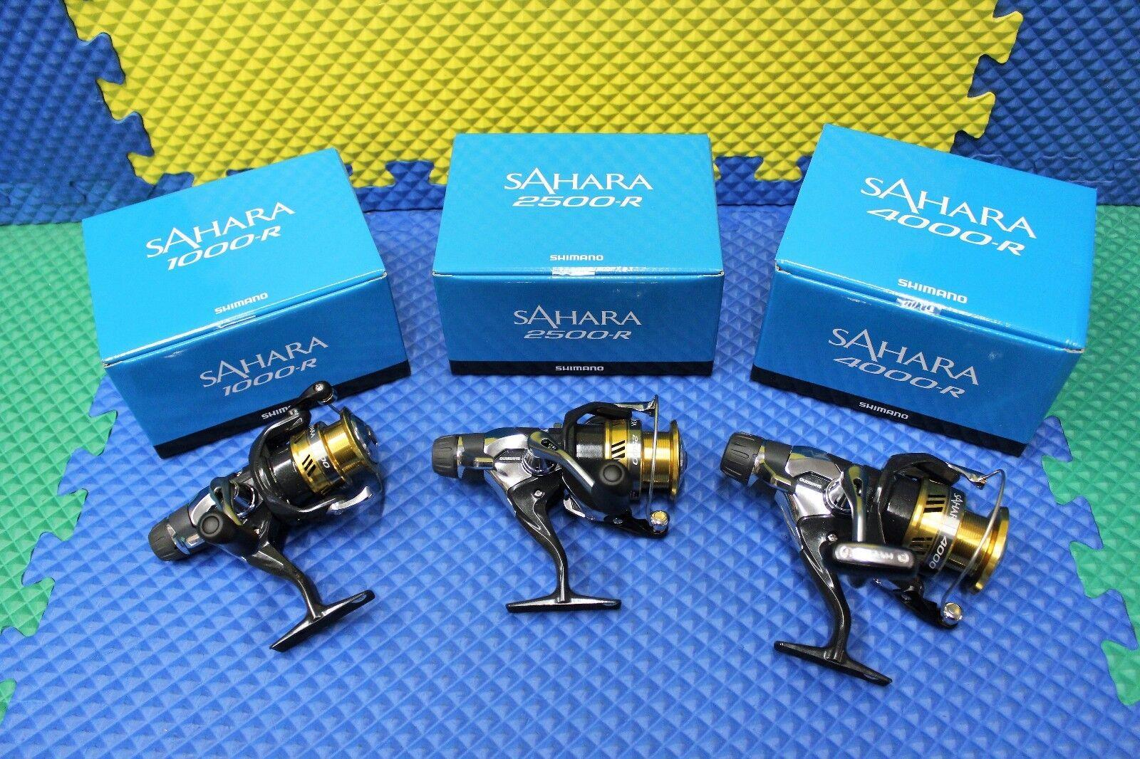 Shimano Sahara blu Box R Rear Drag Spinning Reel Freshwater CHOOSE YOUR MODEL