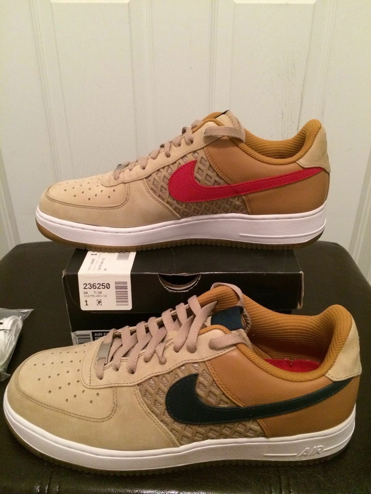 Nike Air Force Airforce af1s AF1 birds nest max khaki hs qs flyknit free freerun Comfortable and good-looking