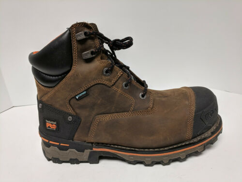 """Timberland PRO Boondock 6"""" Work Boots, Brown, Mens"""