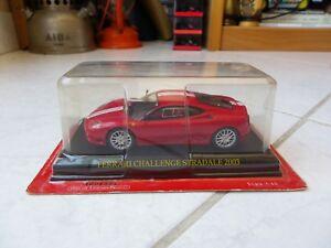 Ferrari-Challenge-Stradale-2003-1-43-Ixo-Altaya-Miniature-sub-Blister