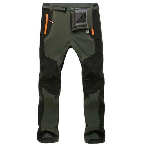 Winter Mens Tactical Pant Combat Thick Trousers Ski Hiking Trekking Warm Outdoor