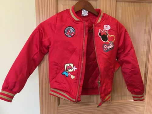 Disney Minnie Mouse Jacket Girl 7//8 NEW
