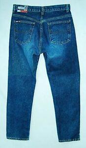 COPPER-Button-Heavy-Cotton-CLASSIC-RISE-Tapered-Leg-BONGO-Jeans-7-8