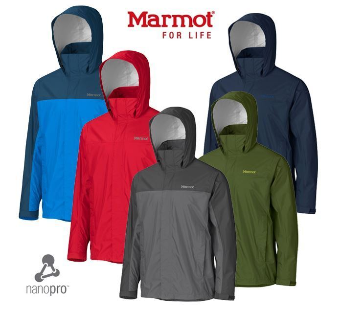Para Hombre  Marmot Precip Rain Jacket, chaqueta ultra Liviana, Impermeable  autorización