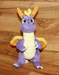 Spyro the Dragon very rare Plush Toy Play by Play Toys 2001 Playstation 1 PS1