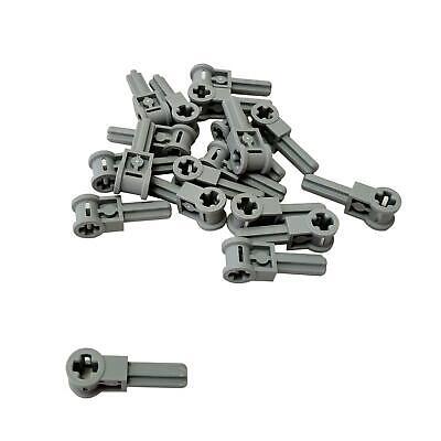 Lego 5 New Light Bluish Gray Technic Pole Reverser Handle Pieces
