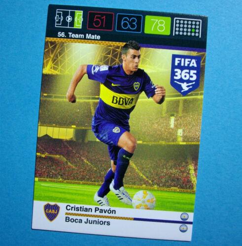 Panini adrenalyn xl FIFA 365-équipe logos toutes les cartes nº 52-102 équipe mate