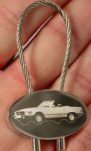 Willensstark Mb W 107 Schlüsselanhänger Cabrio Roadster W107 450sl Fotogravur 450 Sl Keyring Schlüsselanhänger
