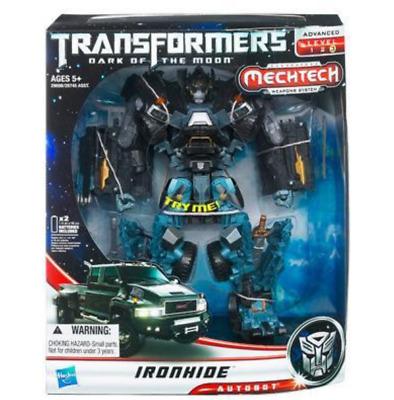 Hasbro transformers 2011 film 3 L leader class iron band manual box