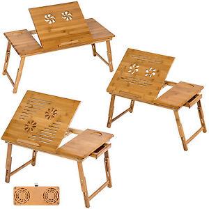 Tavolino pieghevole e portatile da letto per pc notebook tavolo bamb ebay - Tavolino da letto per pc ...