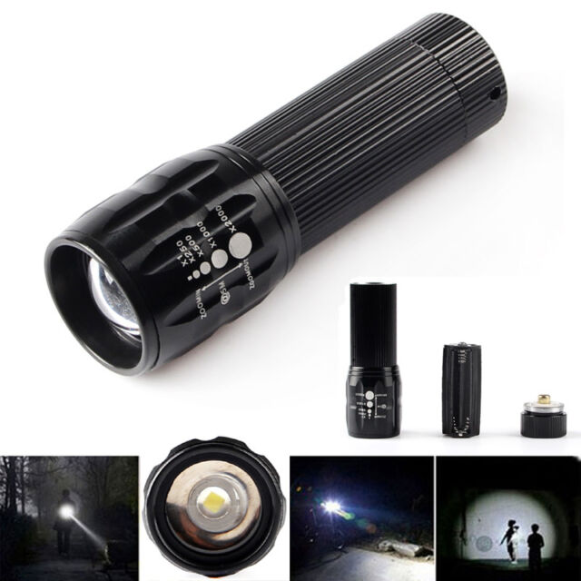 Vander 500 LM Zoomable Q5 LED Flashlight Focus Torch Lamp Light Free Shipping