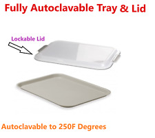 Dental B Tray Setup B Ritter Tray Lockable Tray Lid Cover Autoclave To 270f