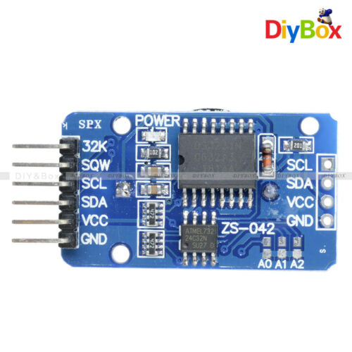 1//2//5//10PCS DS3231 Real time Clock Module AT24C32 IIC Precision Memory