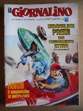 GIORNALINO n°24 1971 Speciale Fangio - S. Zaniboni   [G553]