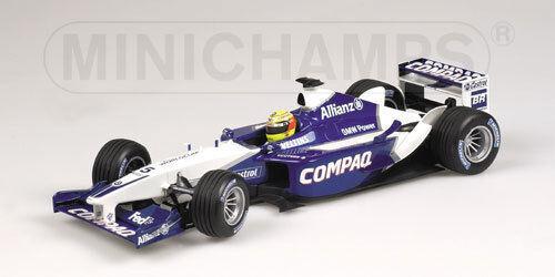 WILLIAMS F1 BMW FW24 2002 R. SCHUMACHER MINICHAMPS 1/18 NEW