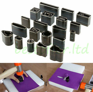39 Styles Metal Hollow Hole Die Punches Leather Craft