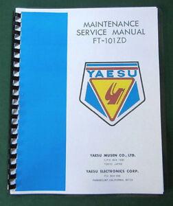 Yaesu ft-101zd instruction manual premium card stock covers & 28.