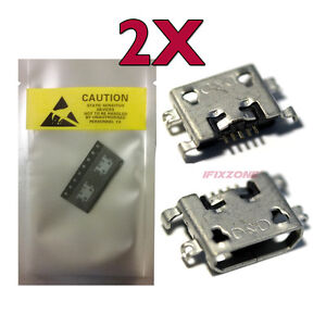 2 X New Micro USB Charging Sync Port For Lenovo Idea Tab S6000 60031 S6000F USA