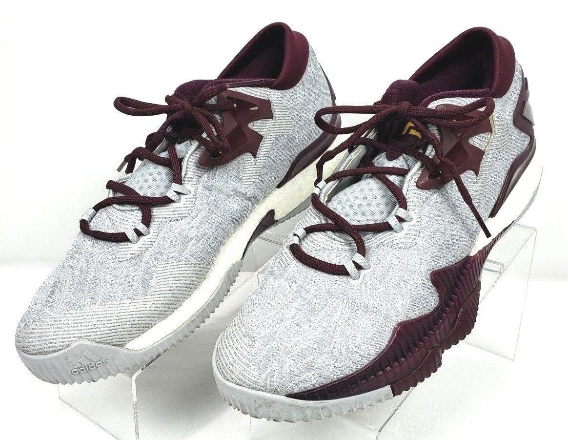James Harden Adidas Crazyllight Boost Low  2016 ASU Arizona State Sz 14 B39062  saldi