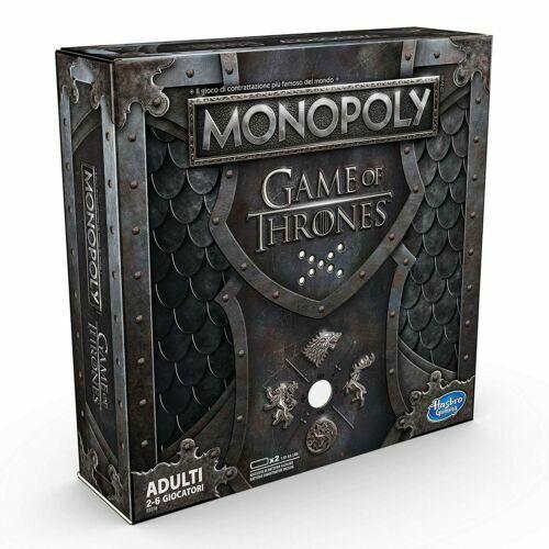 Gesellschaftsspiel Hasbro Monopoly Game of Thrones Italienisch Spielzeug
